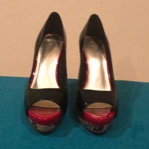 Jessica Simpson 4 inch platform heels